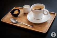A coffee from the Exceller Bike Shop & Cafe (photo by Photo Tour Brugge)